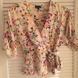 The Limited Kimono Wrap Top